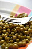 Bowl of peas Royalty Free Stock Photo
