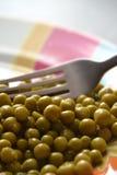 Bowl of peas Royalty Free Stock Image