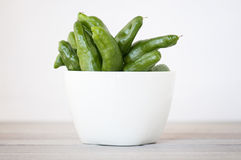 Bowl of peppers Royalty Free Stock Image