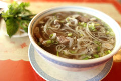 Bowl of pho Stock Images