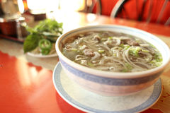 Bowl of pho Royalty Free Stock Image