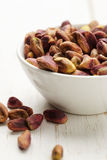 Bowl of pistachio Royalty Free Stock Images