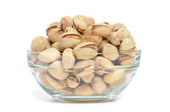 Bowl Pistachios Royalty Free Stock Image