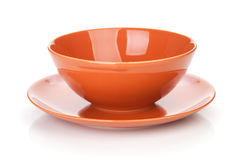 Bowl and plate Stock Photo