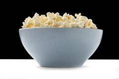 Bowl of pop corn Royalty Free Stock Images