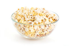 Bowl of popcorn Royalty Free Stock Photos
