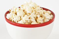Bowl of popcorn Stock Photography