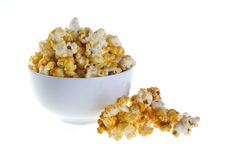 Bowl of popcorn Royalty Free Stock Images