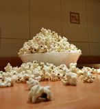 Bowl of popcorn Royalty Free Stock Image