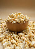 A bowl of popcorn Stock Photo