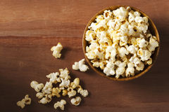 A bowl of popcorn Royalty Free Stock Image