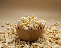 A bowl of popcorn Stock Images