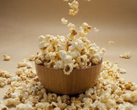 A bowl of popcorn Royalty Free Stock Photos