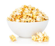 Bowl with popcorn Royalty Free Stock Photos