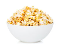 Bowl with popcorn Stock Photography