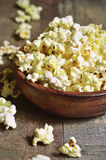 A bowl of popcorn . Royalty Free Stock Images