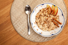 Bowl of Porridge Royalty Free Stock Photos