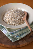 Bowl of porridge oats Royalty Free Stock Image