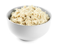 Bowl of porridge Stock Images