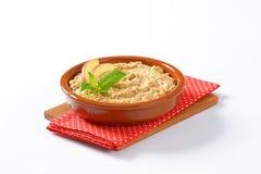 Bowl of porridge stock images