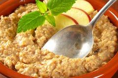 Bowl of porridge royalty free stock photos