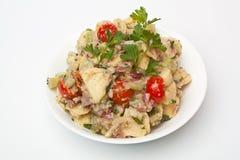 Bowl of potato salad Royalty Free Stock Photos