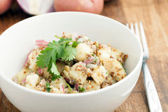 Bowl of Potato Salad Stock Photos