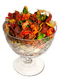 Bowl with potpourri Royalty Free Stock Images