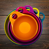 Bowl for products Royalty Free Stock Image