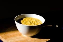 Bowl of pumpkin soup  Stock Photo