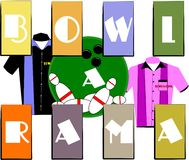Bowl a rama Royalty Free Stock Photo