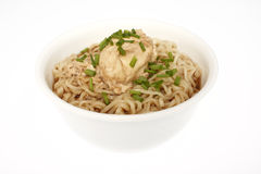 Bowl of ramen noodles Royalty Free Stock Photography