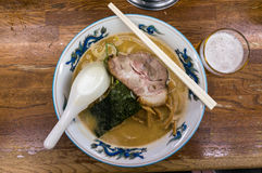 Bowl of ramen Stock Images