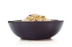 Bowl Of Raw Rice Stock Photos