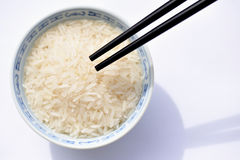 Bowl of rice 1 Stock Images