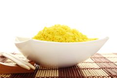 Bowl of Rice Royalty Free Stock Photos