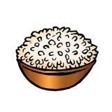 Bowl of rice Royalty Free Stock Image