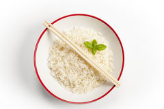 bowl of rice Stock Image