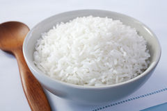 Bowl of Rice Basmati Royalty Free Stock Photos