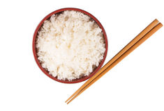 Bowl Of Rice And Chopstick II Stock Image