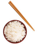 Bowl Of Rice And Chopstick III Royalty Free Stock Image