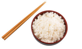 Bowl Of Rice And Chopstick IV Stock Photography