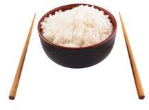 Bowl Of Rice And Chopstick IX Stock Photos