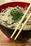 Bowl of rice Stock Images
