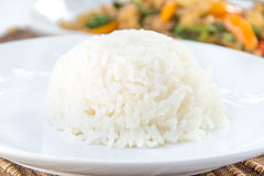 Bowl of Rice for eat Royalty Free Stock Photo