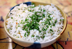 Bowl of Rice Royalty Free Stock Photo