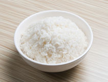 Bowl of rice. Bowl of jusmine rice, Thai rice Royalty Free Stock Photography