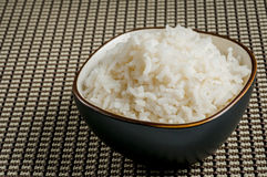 Bowl of rice Royalty Free Stock Image
