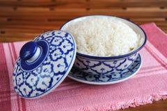 Bowl of Rics. Photograph of a bowl of rice shot using natural light Stock Photos