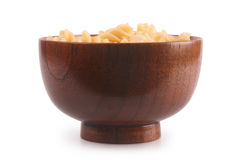 Bowl of Rotini Stock Photo